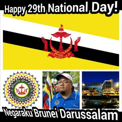 Negaraku Brunei Darussalam. Happy 29th National Day! See you folks at the parade! Andrography InstaBruDroid NatDay29 NBD29