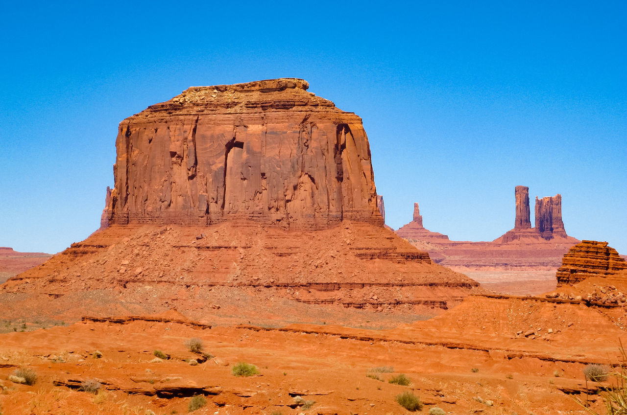 Eroded Rocks Geological Formations Rocky Scenic Landscapes Geological Formation Rocky Landscape Eroded Mountain Rock - Object Natural The Old West USA Rocky Mountains Sandstone Sandstone Rocks Wind Erosion Old West  Eroded Landscape Monument Valley Nature Non-urban Scene Physical Geography Rock Formation Western