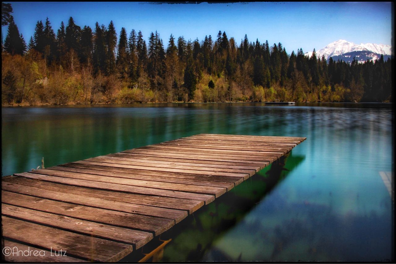 Crestasee Flims Bergsee Beauty In Nature Nature Photography Langzeitbelichtung Long Exposure Canonphotography Narure Beauty Ndfilter Landscape Day Steg Break The Mold The Great Outdoors - 2017 EyeEm Awards