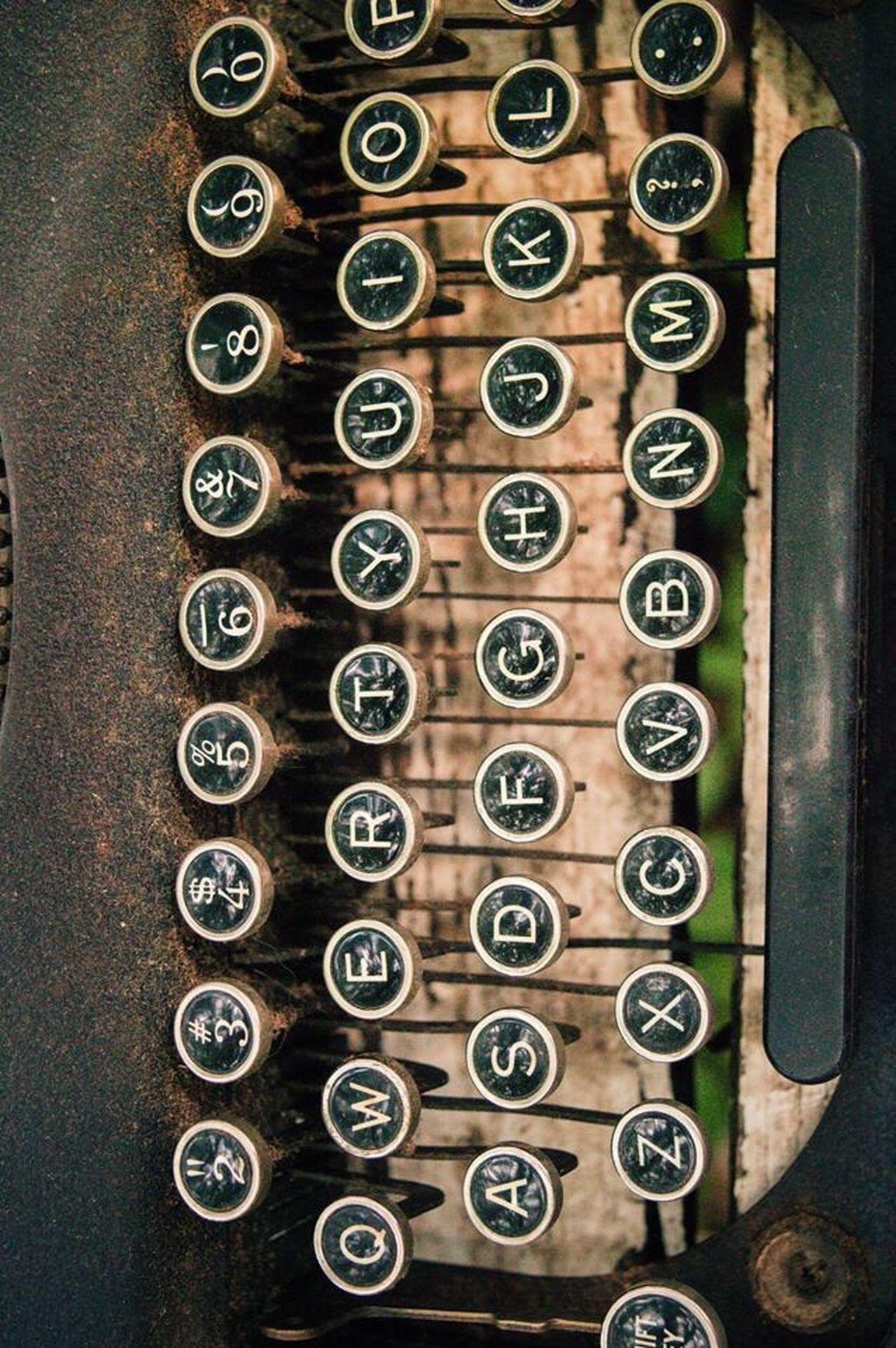 Antique Steampunk Typewriter