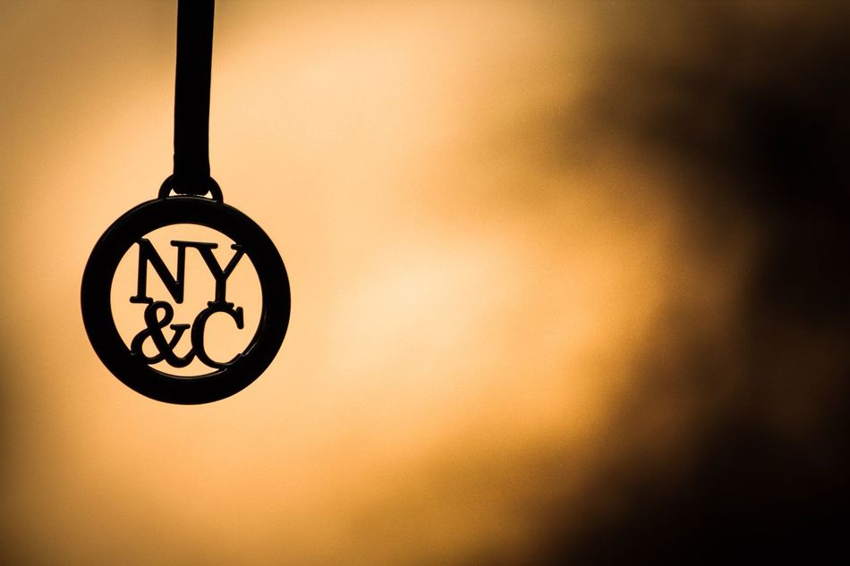 It's not about a brand it's about a quality Newyorkcityandcompany Hanging No People Low Angle View Close-up Sunset_collection Macro Brand Handbag  Tags