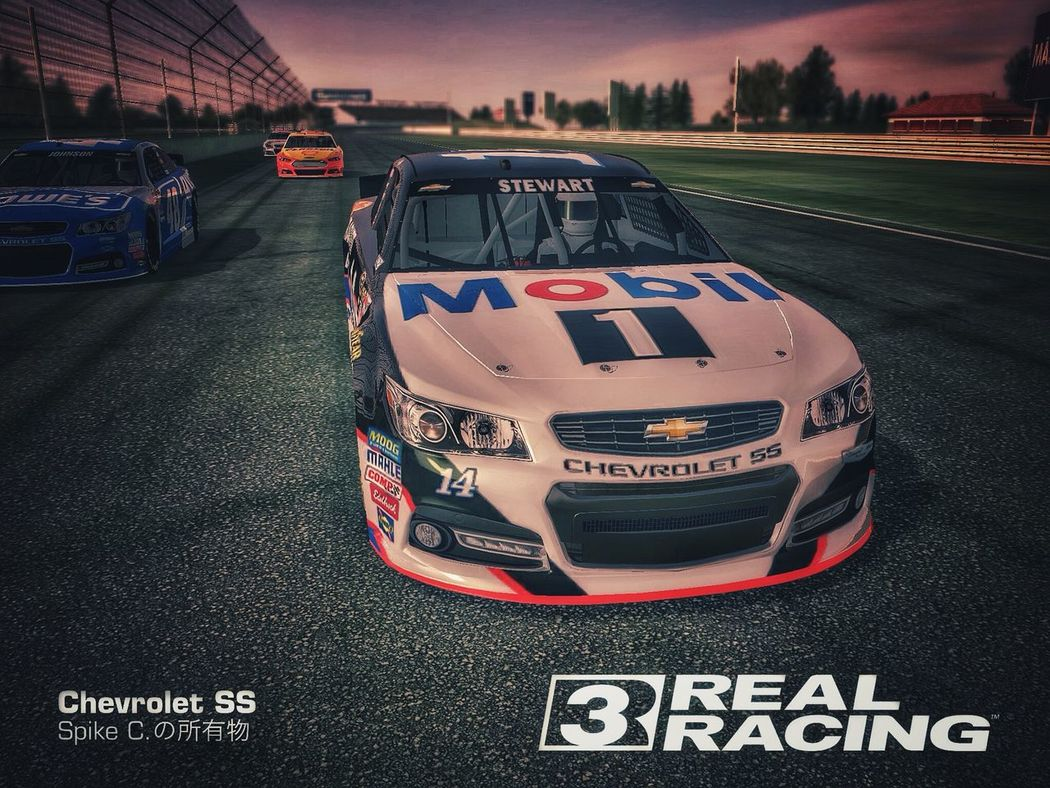 Daily Routine Real Racing 3  Screenshot Playing NASCAR Stewart-Haas Series Relax Time