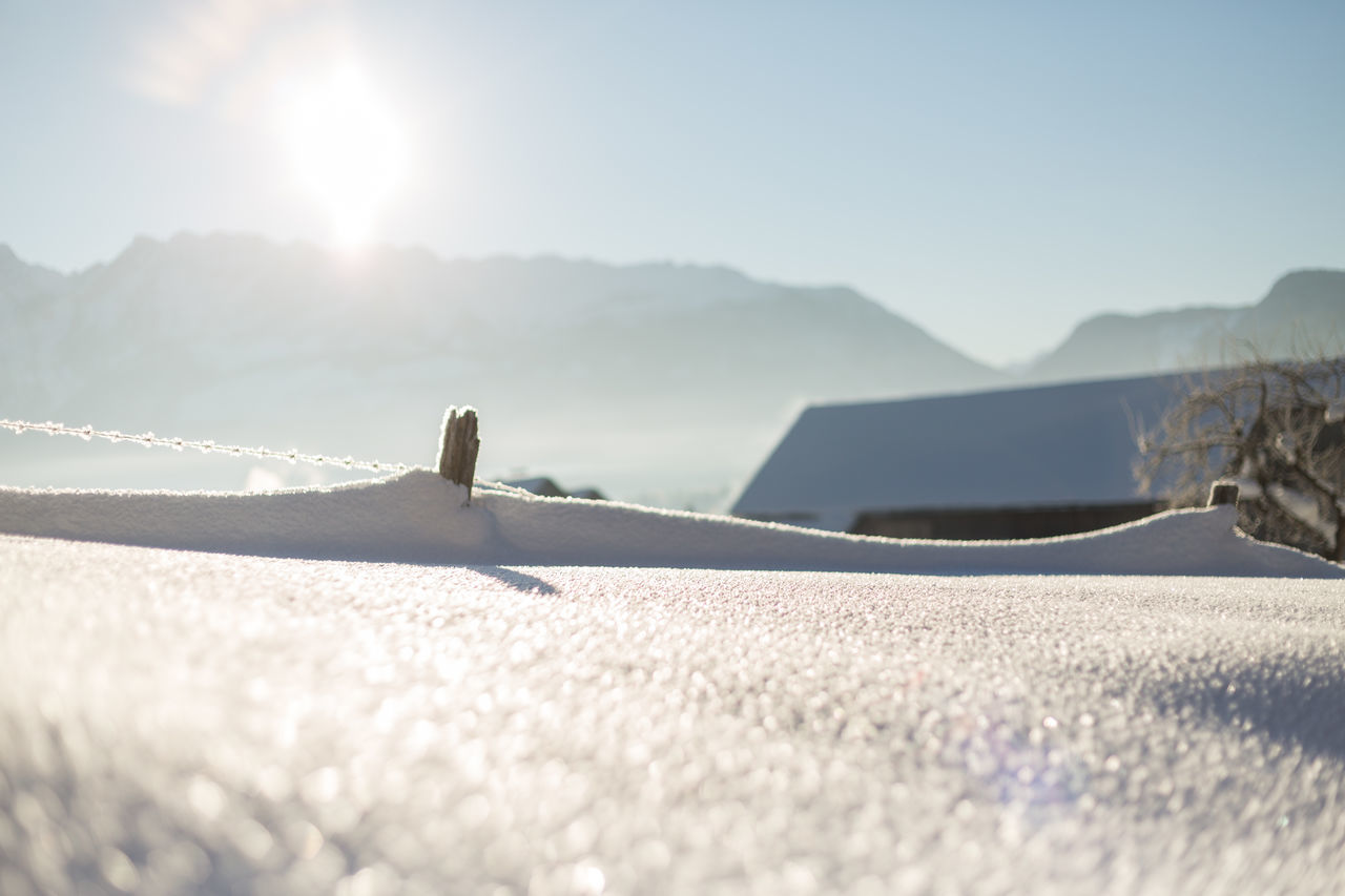 Austria Austrianphotographers Beauty In Nature Clear Sky Close-up Cold Temperature Day Landscape Mountain Nature No People Obersdorf Outdoors Scenics Sky Snow Styria Sun Sunlight Tranquil Scene Winter First Eyeem Photo