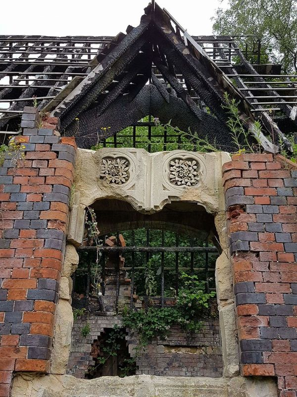 Architecture Built Structure Building Exterior Spirituality Brick Wall Religion Wall - Building Feature Entrance Art And Craft Closed Door Place Of Worship Temple - Building Weathered Outdoors Surrounding Wall History Obsolete Brick Deterioration