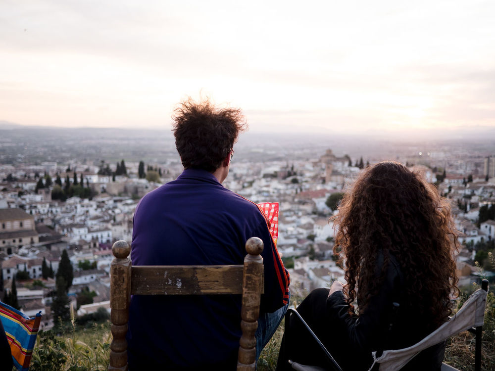Andalucía Best Friends Chair Cityscape Cuevas Curly Frienship Gipsy Golden Hour Goldenhour Granada Landscape Looking Into The Future Love Lovely LoveNature Magic Mirador Nostalgia Real People SPAIN Sunset Sunset And Clouds  Sunset Silhouettes Sunset_collection