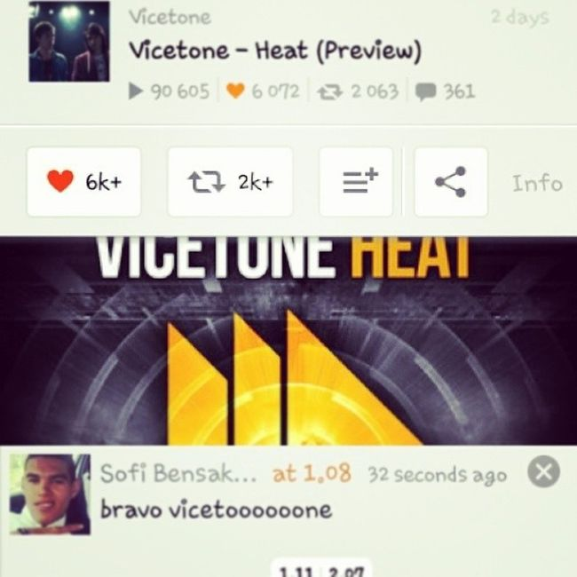 Wooooow nic & amazing new track of Vicetone ???? Soundcloud PROGRESSIVE House revealed new instagood music instawow