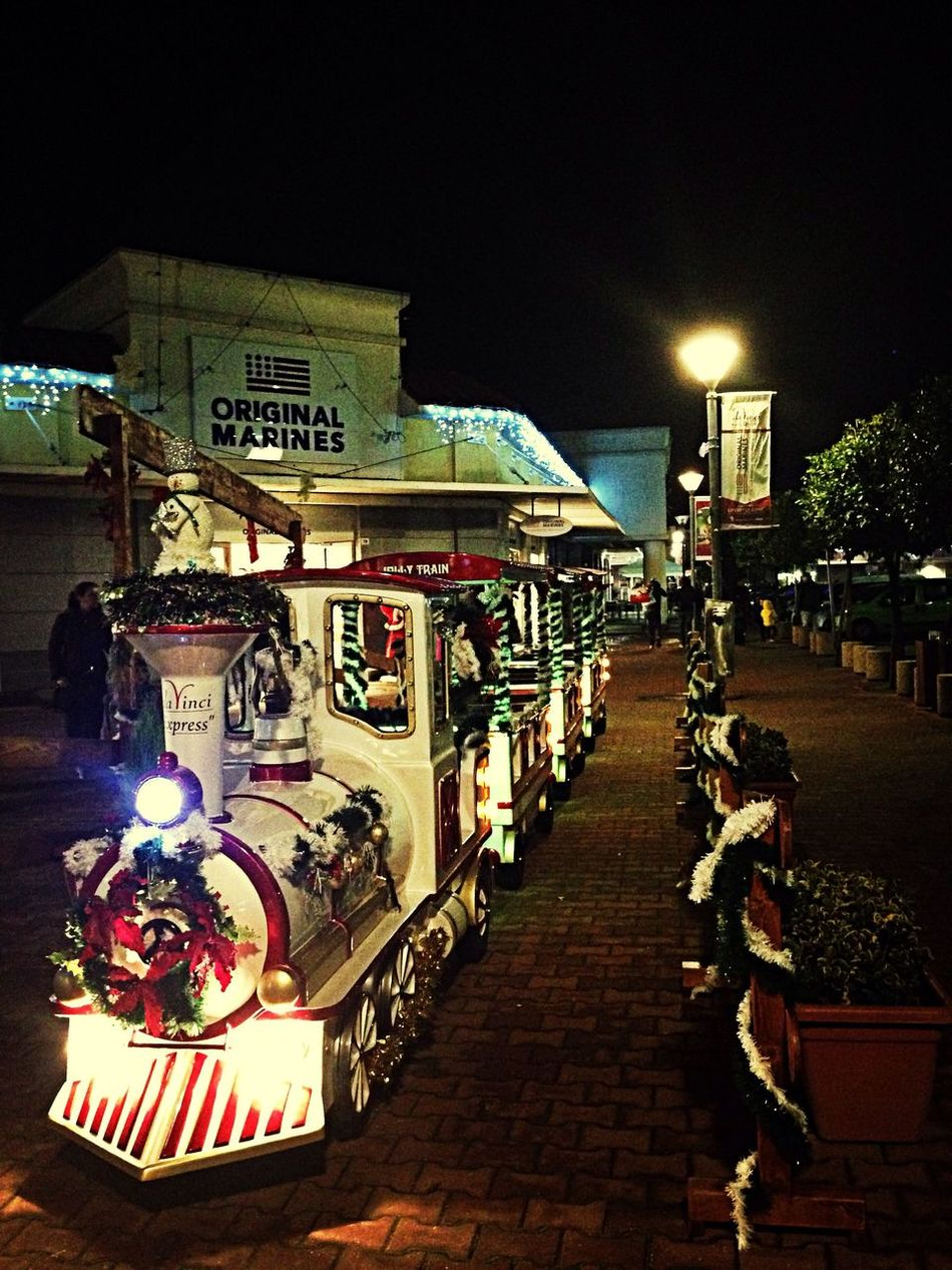 Christmas train! Christmas 2014 Market Da Vinci