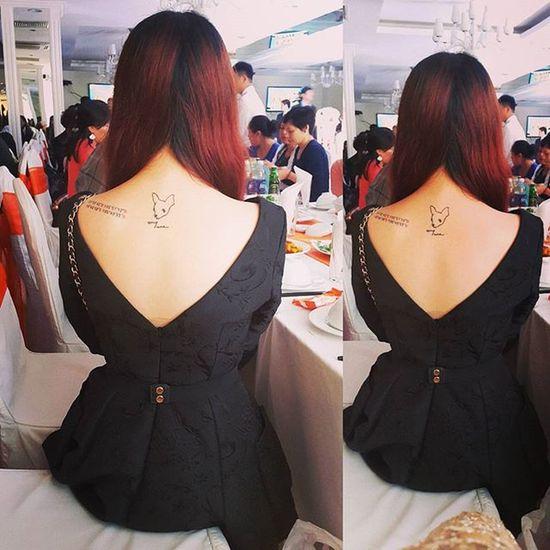 Váy xẻ lưng lên ngôi 😂😂😂 Tattoo Cute Ootd