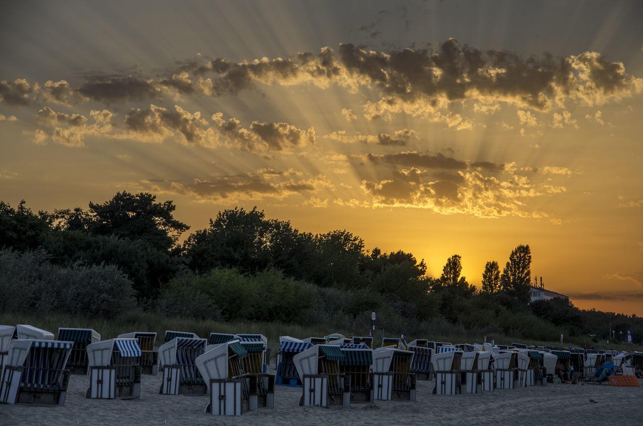 Baltic Sea Germany🇩🇪 Zinnowitz Usedom Beach Sundown Sunflares Travel Photography