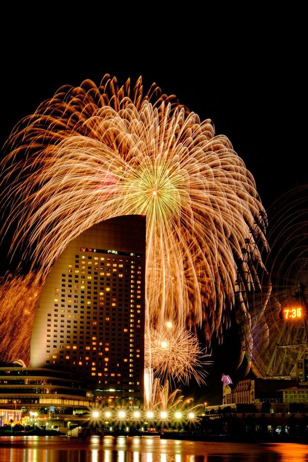 第30回神奈川新聞花火大会08.04.2015 / 30th Kanagawa Newspaper fireworks 08.04.2015 Japan Yokohama FUJIFILM X-T1 Fireworks Summer Summer2015 Fujifilm X-T1 Fuji X-T1