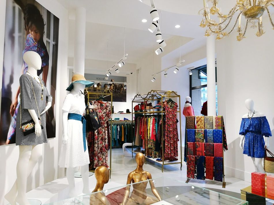 Souleiado Mannequin Fashion Boutique Clothing Store Store Mode Colors Choice Dress Work Motif  Clothing