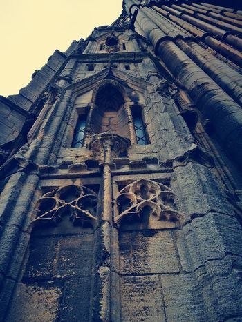 Gothic Outdoors Day No People Low Angle View Architecture Built Structure Sky Nature