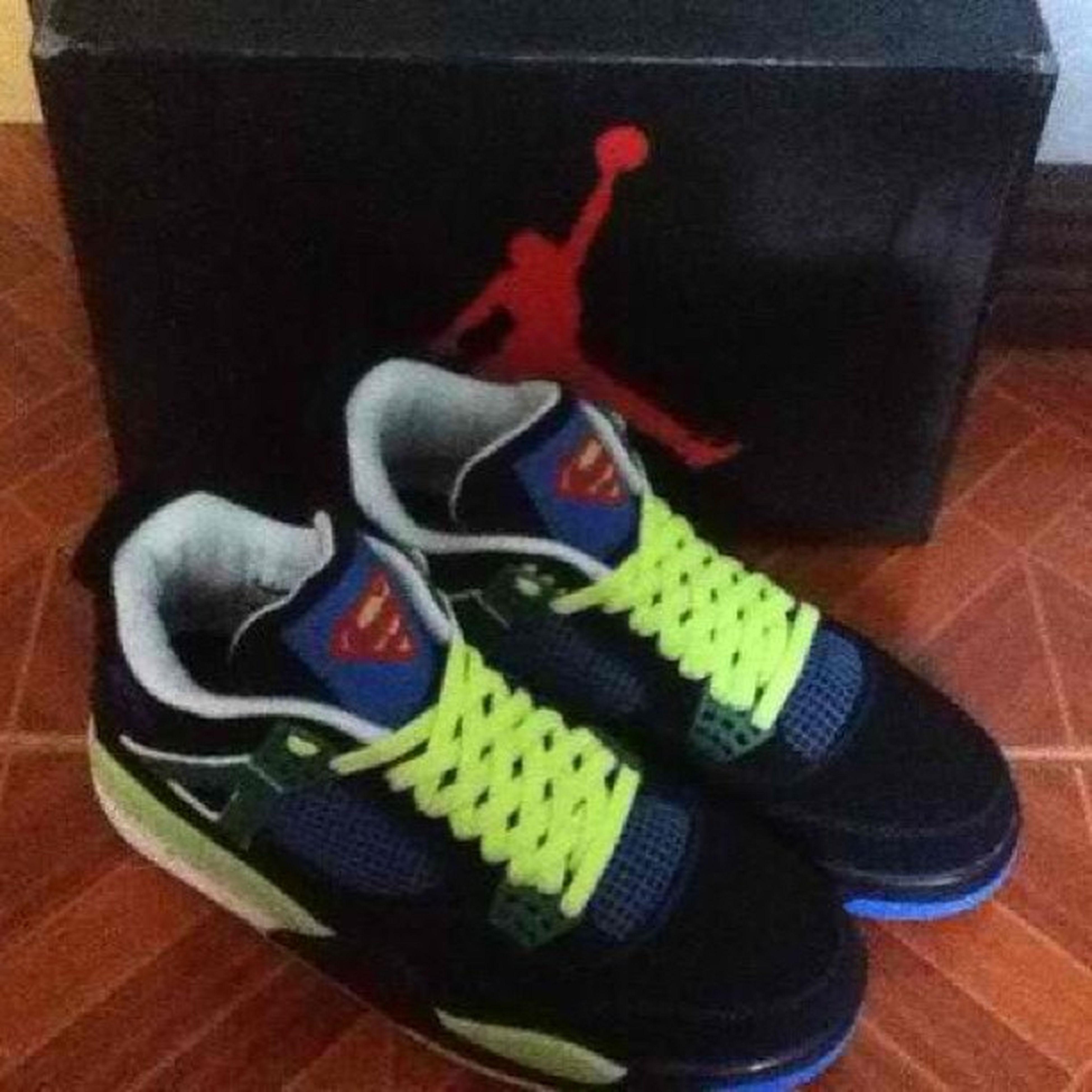 Price drop!! Jordan 4 retro Doernbecher Isaiah superman! Cop or not? Enq at 09178932502 v-alcarb@hotmail.com Retro Jordan Shoes Kicks People Nike Bball Superman Doernbechers
