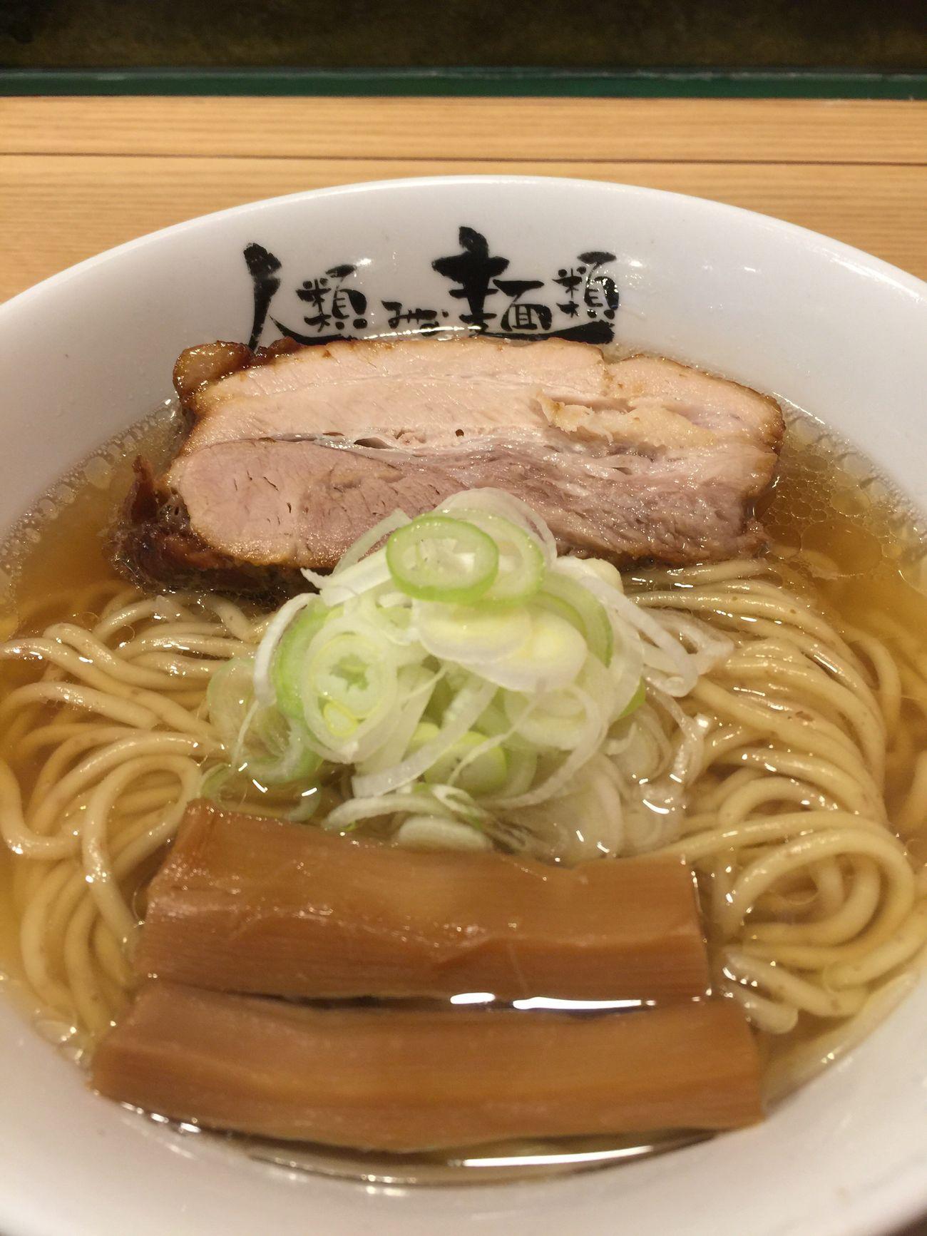 「人類みな麺類」でラーメンを食べる☆ ラヲタ ラ女子 ラーメン Ramen 大阪市 Enjoy Eating Vscocam