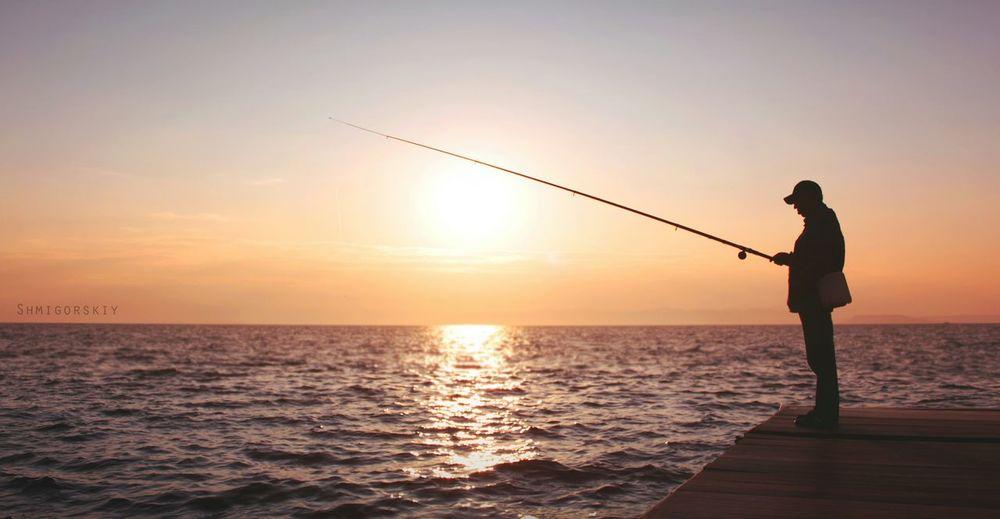 Vladivostok Sea Fisherman Beauty Sunset Canon550 владивосток Море Закат Summer