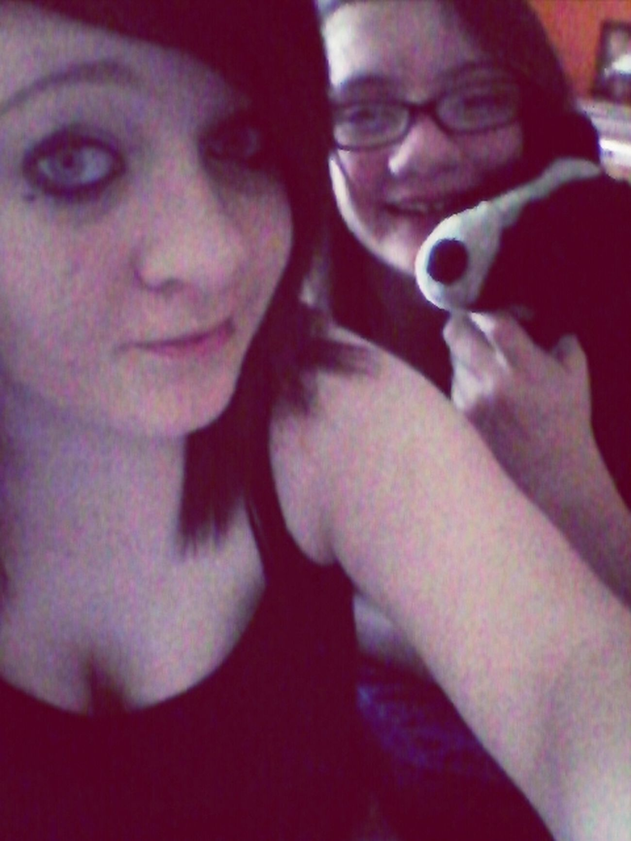 My sister and my best friend c: