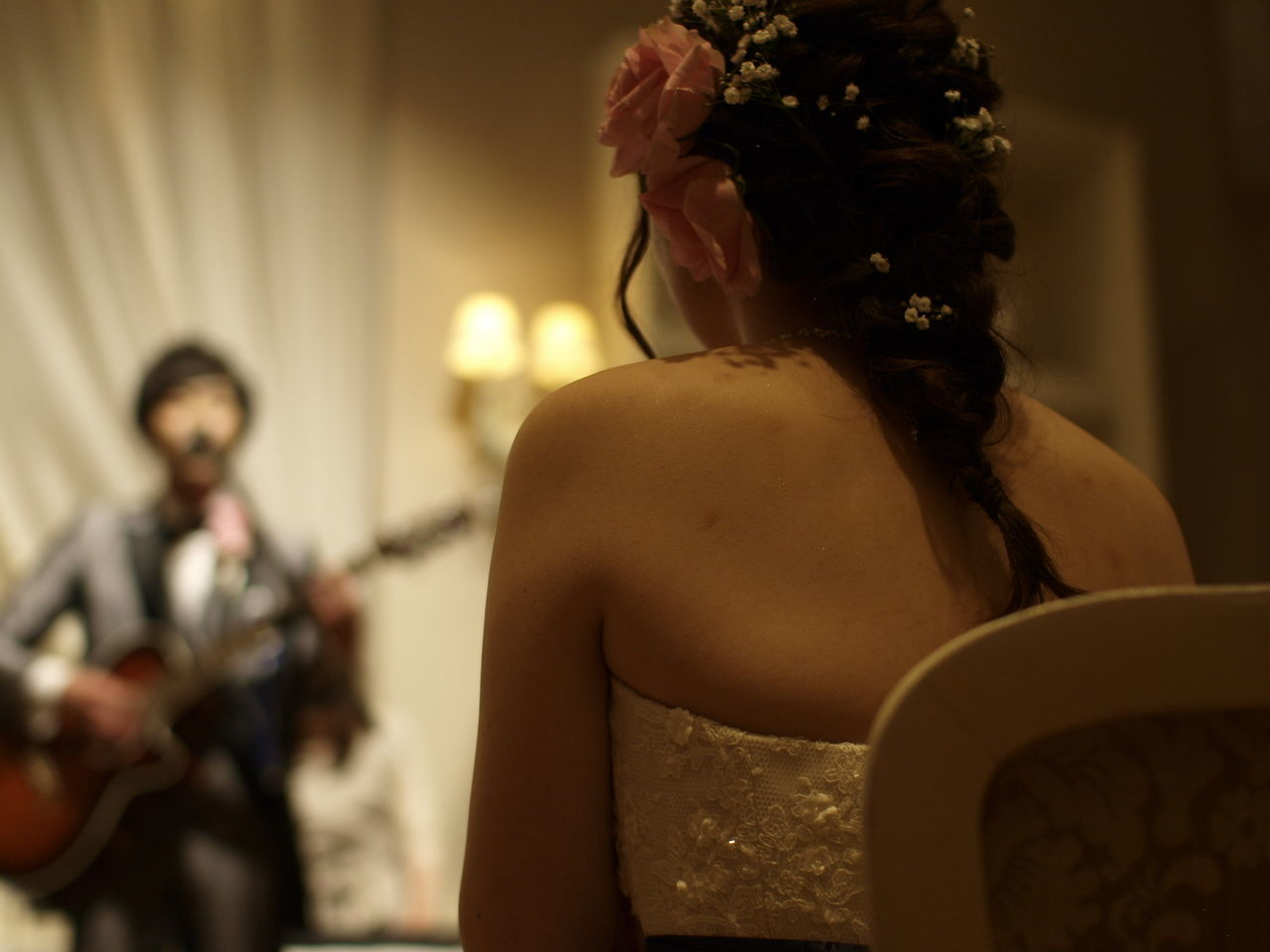 Band Bridal Can You Marry Me Fine Day Guitar Happy Japan Love Marriage  Married Music Party People Play The Music Songs Wedding Wedding Day Wedding Party