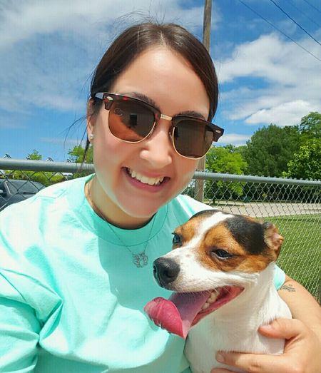 Dog Park 🐕 Dogmom Jackrussell Lovebug Happy