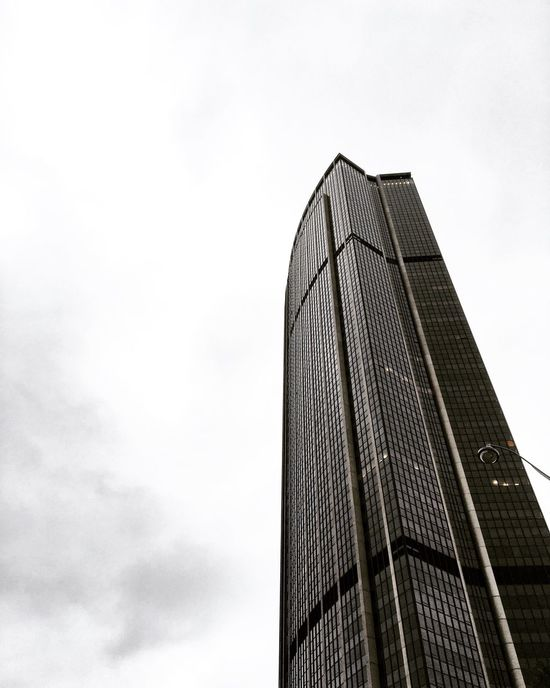 Architecture Low Angle View Built Structure Building Exterior Skyscraper City Sky Modern Tower No People Day Outdoors Office Block Sky And Clouds Window Photo Photography Love Building Streetphotography Paris City Montparnasse