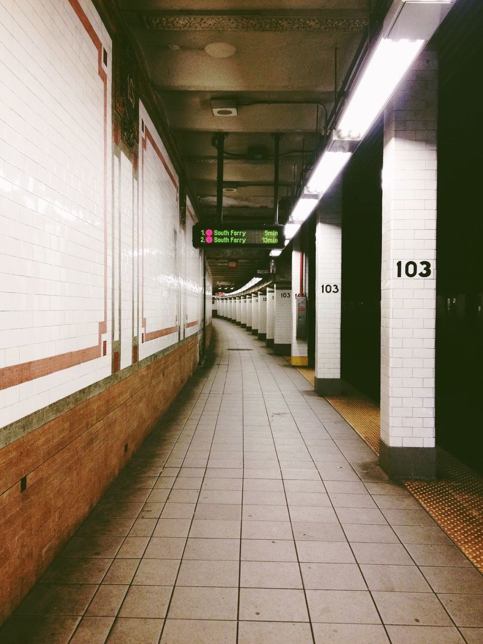 Under the apple. NYC Notes From The Underground Subway Commuting