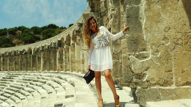 Turkey Aspendos  Antik Theater EyeEmBestPics Faces Of EyeEm I Love Turkey Russianbeauty Modelling