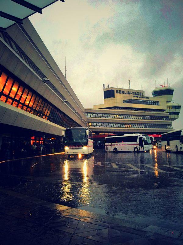One Year Ago Leaving Berlin Rain Berlin Tegel Airport (TXL)