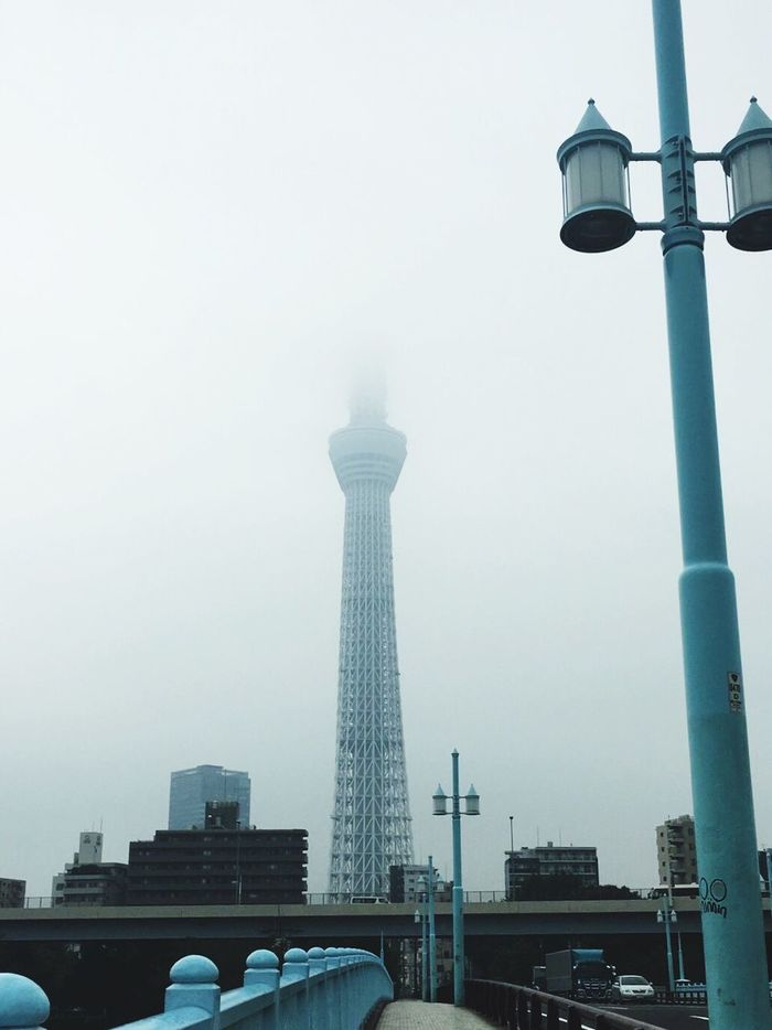 Tower Weather Sky Rain Rainy Days Skyscraper Skytree Japan Sky And Clouds Sky_collection Cloudy Cloud - Sky Don't Cry