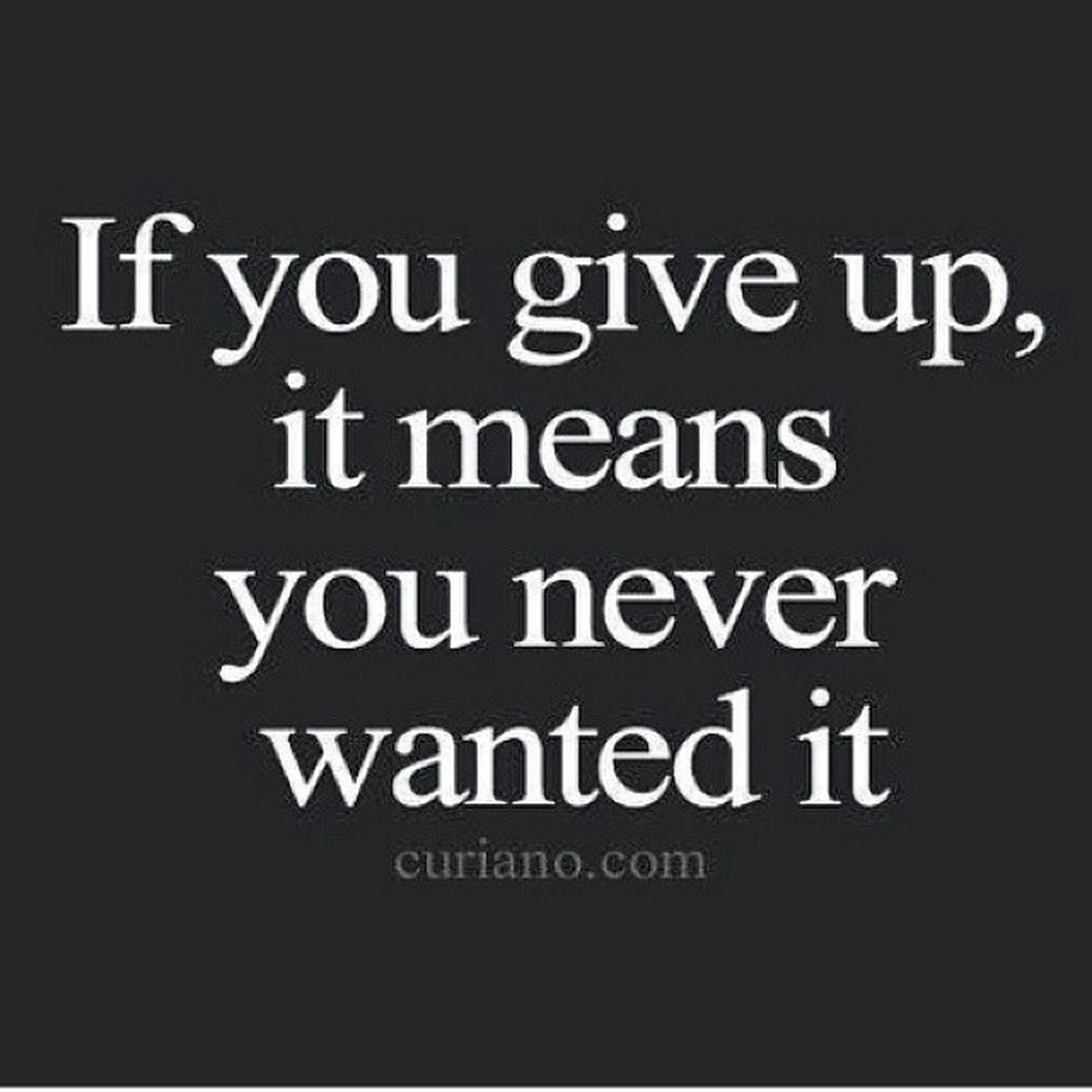 True story... DontOpenDoorsYourAfraidToWalkThrough QuitersNeverWin WinnersNeverQuit Lifeadvice
