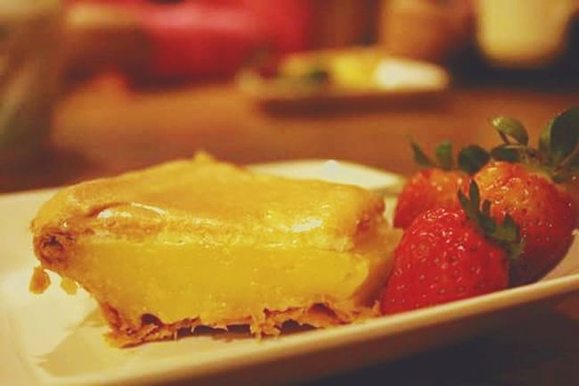 Food Appetizer Dessert Lemonpie Sagada Adventure Strawberries