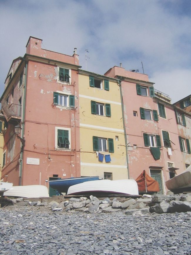 Houses on the Beach in Boccadasse (GE) / Zena4ever Genova EyeEm Best Edits EyeEm Best Shots EyeEm Gallery Seascape Fishermanvillage Fisherman