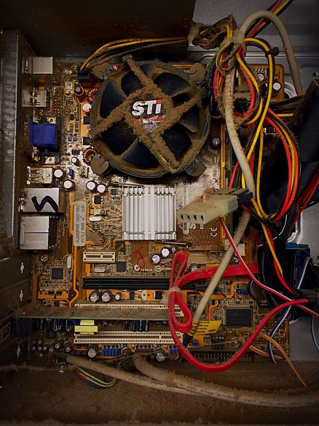 Old And Dirty Machine PC DDR2