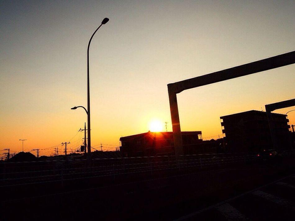 おつかれさま。 NikonP330 夕暮れ時 Twilight おつかれさま