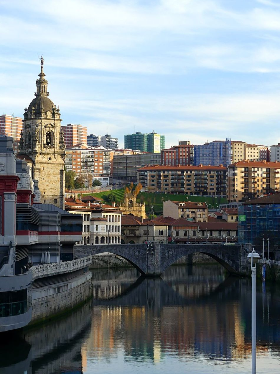 Architecture Built Structure Water River Bilbaolovers Bilbaoarchitecture Bilbao Bilbao - Lights And Colors Bilbaoarquitecture Bilbao Urban Colors Collection