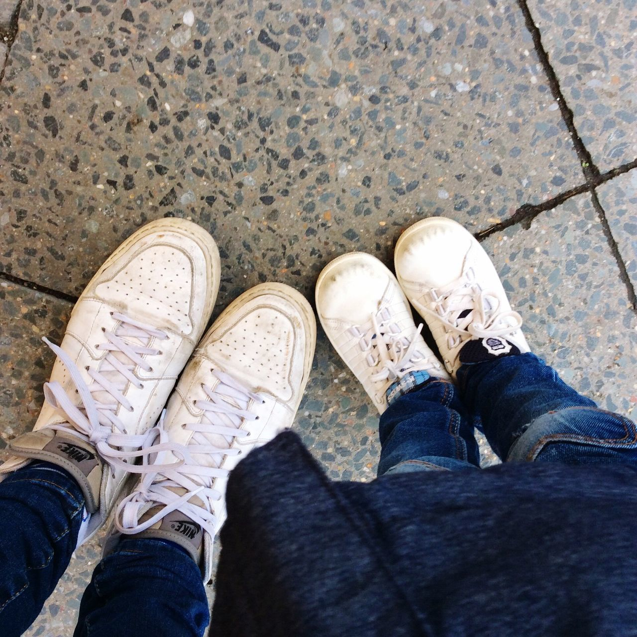 Partner Look Shoes White Sneakers Sneakers Mami-look
