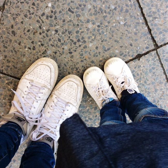 Partner Look Shoes White Sneakers Sneakers Mami-look