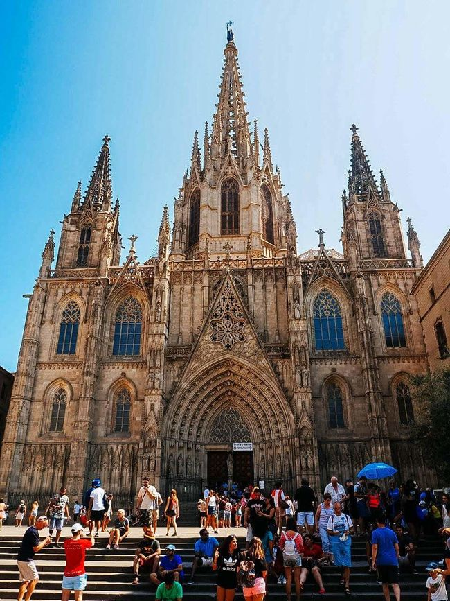 Catedral de barcelona. Church Catedral De Barcelona Architecture Bacelona Spain ✈️🇪🇸