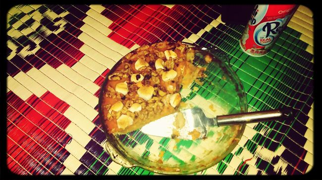 Thanksgiving pie...we gave thanks and ate it too Foodporn Pie Sweetpotatopie Ravenous !