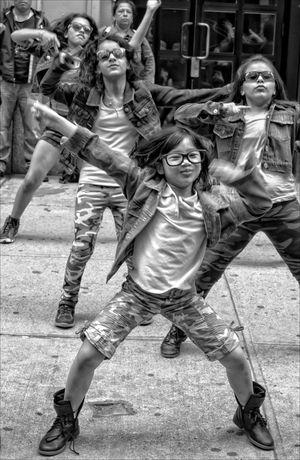 New York Dance Parade Dancer New York Dance Parade Young Girl