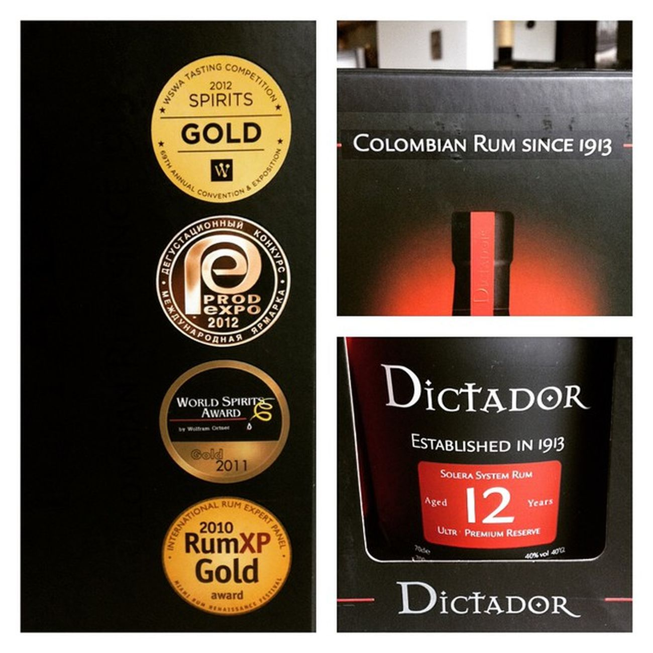 Eentje voor het nieuwe jaar in te zetten :) Rum Rhum Ron Dictador Instarum Instadrinks NewYear NYE Dictador12 Spirits Instaspirits