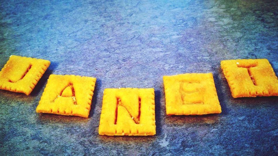EyeEm Selects Cheez-it Orange Color Janet Alphabet No People Indoors  Close-up
