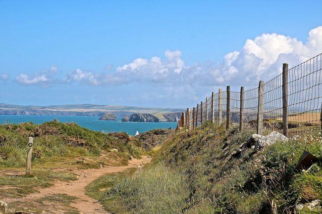Beauty In Nature Coastline Coastline Landscape Outdoors Pembrokeshire Pembrokeshire Coast Scenics Sea Tranquil Scene Tranquility Wales Wales❤ Water