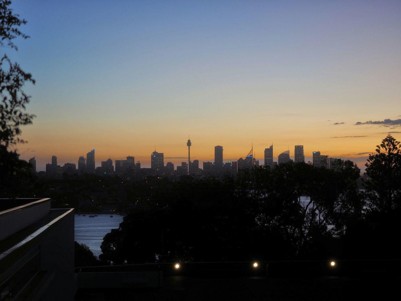 Cityscapes Skyline Dusk Sydney