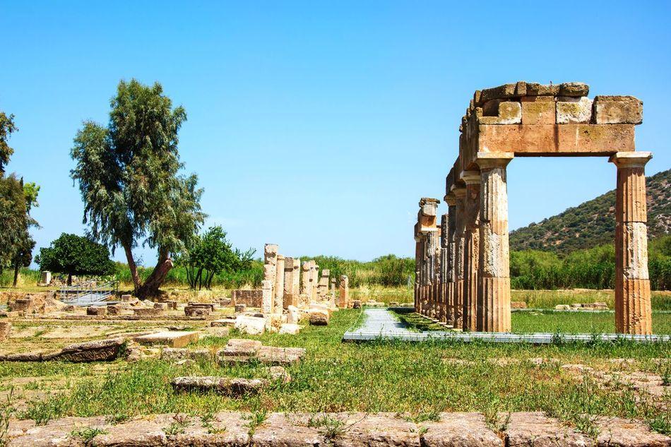 Temple of Artemis @ Vravrona, Greece Artemis Ancient Greece Gods Temple First Eyeem Photo