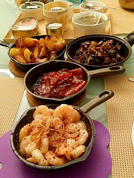 Homemade spanish tapas Tapas In My Mouf Enjoying A Meal Homemade Foodporn