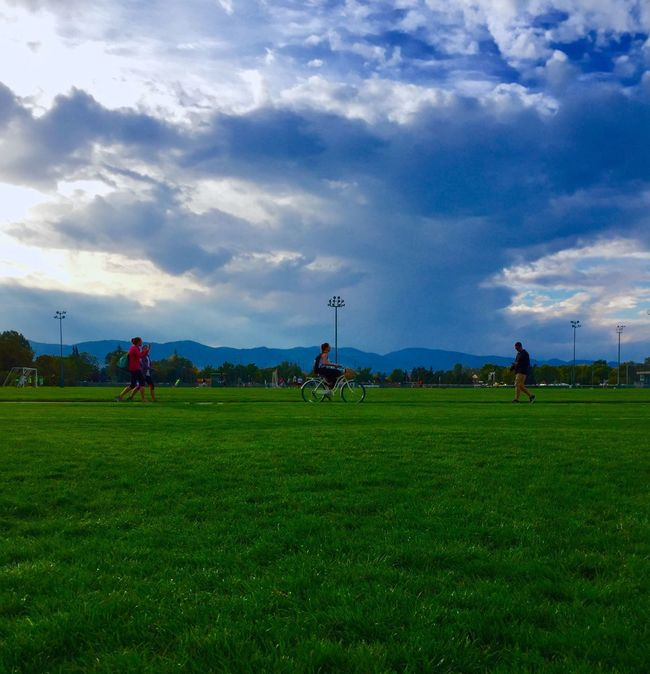 Colorado State University CSU Stormy Sky Storm Clouds Clouds Everyday Day To Day Lifestyle
