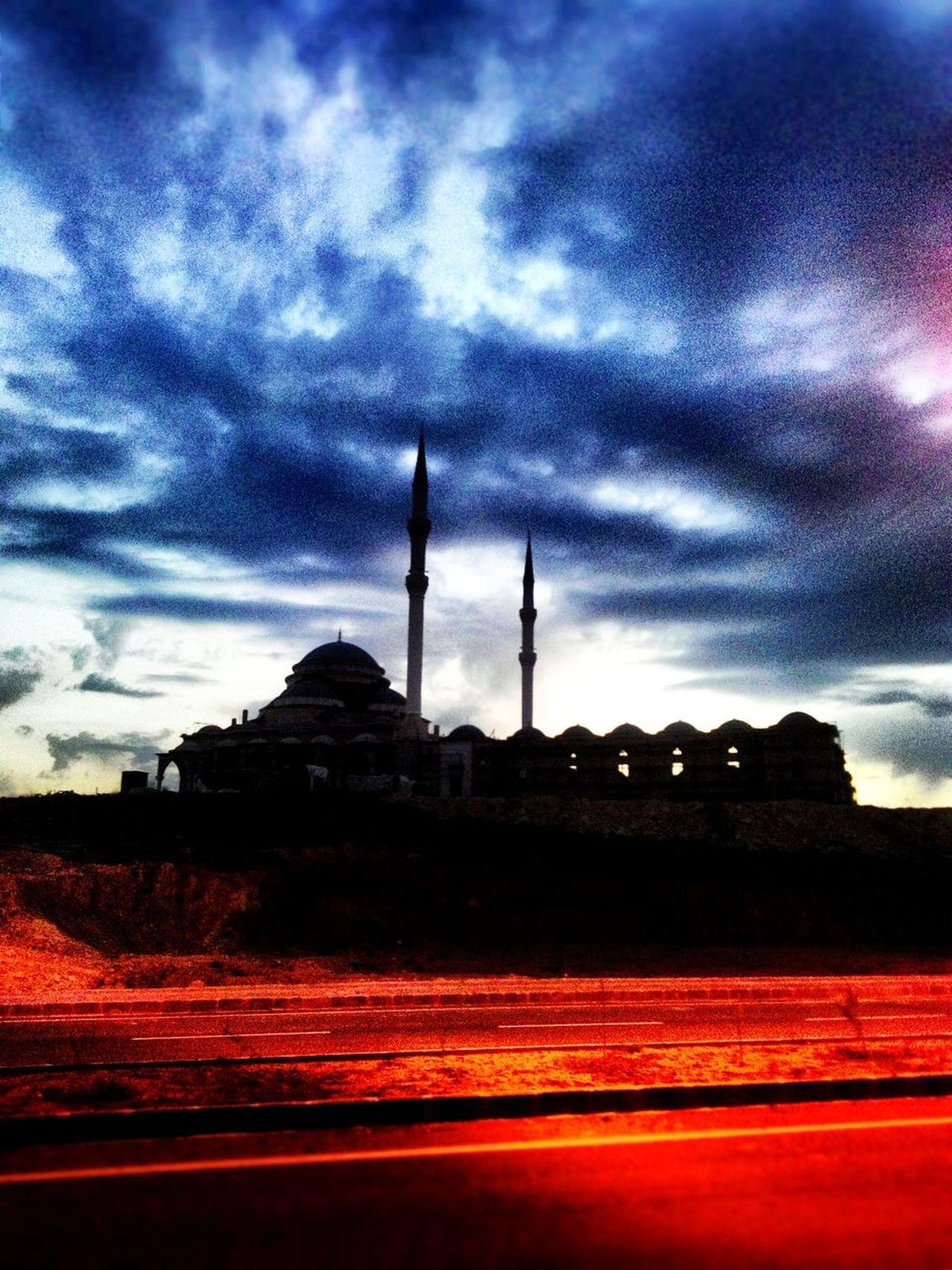 Batman Üniversitesi Camii Batman ūniversitesi Batman Mosque City Architecture Happy :) Turkey