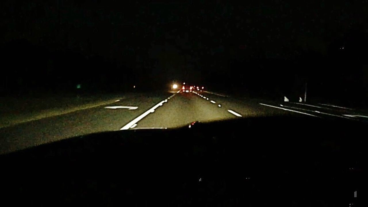 Miles From Nowhere Night Road Trip Going Home MeinAutomoment