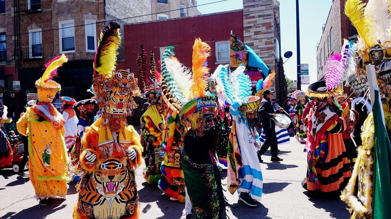 Celebration City Day Multi Colored Outdoors Cinco De Mayo