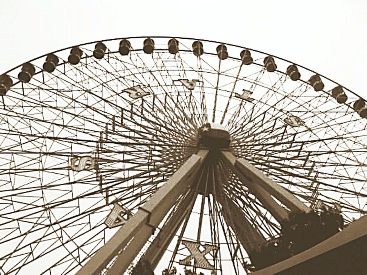 amusement park, ferris wheel, arts culture and entertainment, amusement park ride, no people, traveling carnival, day, outdoors, sky