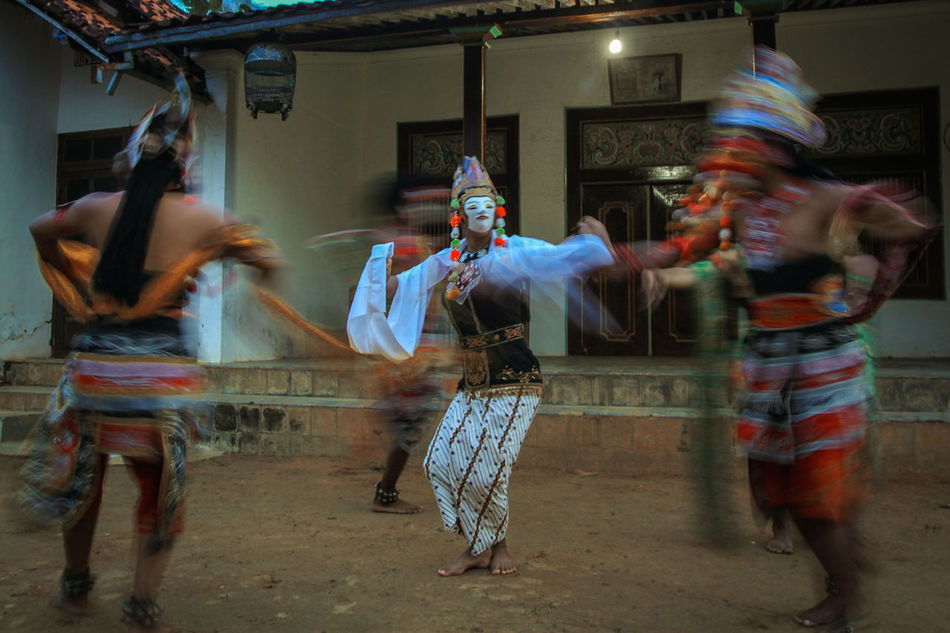 Human Cultural Heritage Heritage Culture And Tradition Cultures Indonesia Culture Traditional Dance Mask Dance Traditional Mask Madura Island-Indonesia